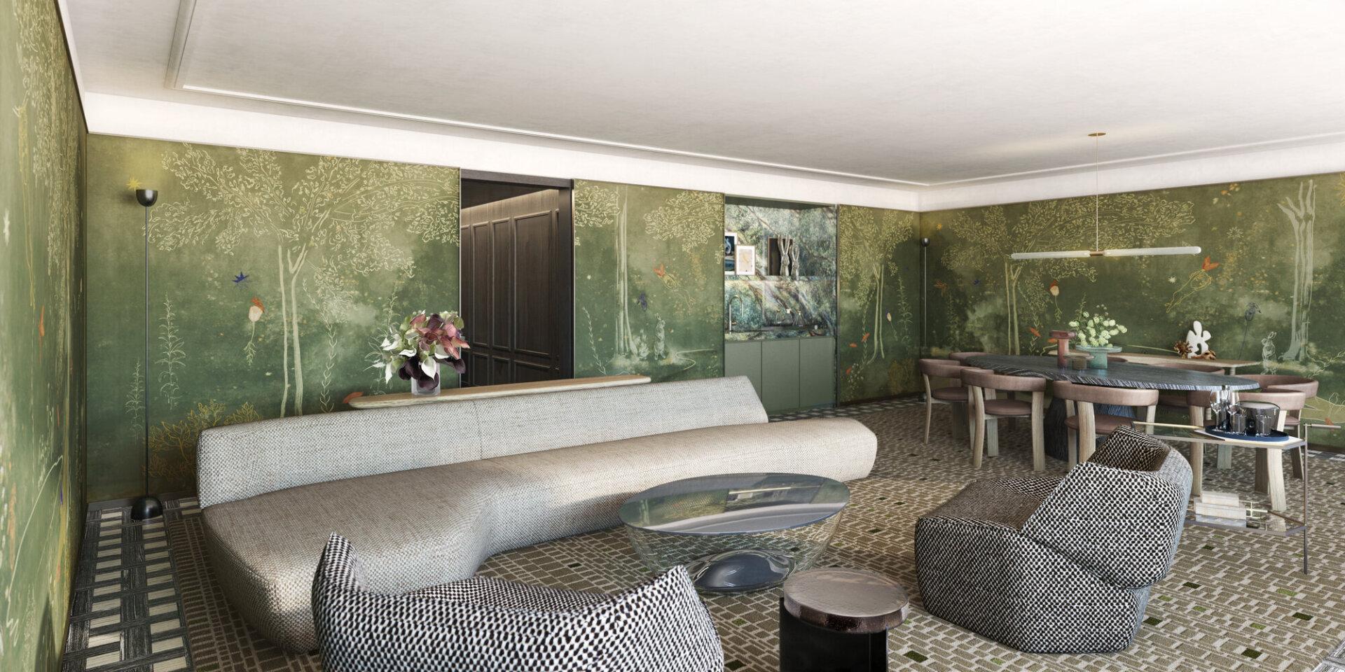 Belvedere Suite Living Room